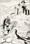 Original Comic Art:Splash Pages, Sal Buscema Thor #368 Splash Page 9 Original Art (Marvel,1986)....