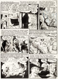 Original Comic Art:Panel Pages, Al Williamson Tales from the Crypt #31 Story Page 5 OriginalArt (EC, 1952)....