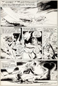 "Original Comic Art:Complete Story, Dick Giordano (attributed) and Tex Blaisdell The Best of DCDigest #14 Complete 1-Page Story ""The Origin of the Ca..."