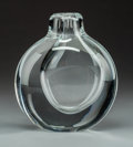 Art Glass:Other , A Göran Wärff for Kosta Boda Glass Vase, Småland, Sweden, 1978.Marks: Kosta 74802 Warff. 7 x 6 x 3-1/...