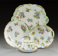 Ceramics & Porcelain, A Thirty-Four Piece Herend Queen Victoria Pattern Porcelain Table Service, Herend, Hungary, 20th century . Marks... (Total: 34 Items)