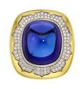 Estate Jewelry:Rings, Tanzanite, Diamond, Gold Ring, Silverhorn. ...