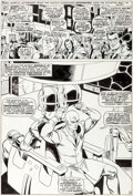 Original Comic Art:Panel Pages, Werner Roth and John Tartaglione X-Men
