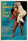 """Movie Posters:Western, The Ranger of Pikes Peak (Universal, 1919). One Sheet (28.5"""" X 41"""").. ..."""