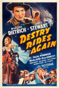 """Movie Posters:Western, Destry Rides Again (Universal, 1939). One Sheet (27"""" X 41"""") StyleCX.. ..."""