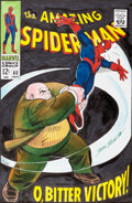 Original Comic Art:Covers, Mike Esposito and Stan Goldberg The Amazing Spider-Man #60 Recreation Cover Original Art (undated)....