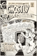 Original Comic Art:Covers, Steve Ditko Ghostly Tales #92 Cover Original Art (Charlton,1972)....