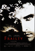 """Movie Posters:Crime, Frailty & Other Lot (Lions Gate, 2002). One Sheets (2) (27"""" X41"""" & 27"""" X 40"""") DS. Crime.. ... (Total: 2 Items)"""
