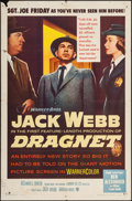 """Movie Posters:Crime, Dragnet (Warner Brothers, 1954). One Sheet (26.75"""" X 41""""). Crime.. ..."""