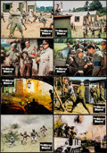 """Movie Posters:War, The Dirty Dozen (CIC, 1967). German Lobby Card Set of 14 (11.75"""" X 8.25""""). War.. ... (Total: 14 Items)"""