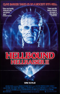 "Hellbound: Hellraiser II & Other Lot (New World, 1988). One Sheets (2) (27"" X 41""). Horror. ... (Total..."
