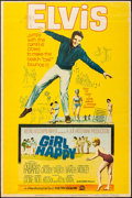 "Movie Posters:Elvis Presley, Girl Happy (MGM, 1965). Trimmed Poster (39.25"" X 59.5"") Style Y.Elvis Presley.. ..."
