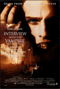 """Interview with the Vampire & Other Lot (Warner Brothers, 1994). Rolled, Very Fine-. One Sheets (2) (27"""" X 40&qu..."""