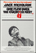 "Movie Posters:Academy Award Winners, One Flew Over the Cuckoo's Nest (United Artists, 1975). Australian One Sheet (27"" X 40""). Academy Award Winners.. ..."