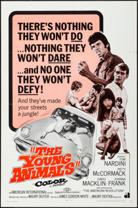 """The Young Animals & Other Lot (American International, 1968). One Sheet (27"""" X 41"""") & Spanish..."""