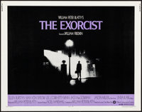 """The Exorcist (Warner Brothers, 1974). Half Sheet (22"""" X 28""""). Horror"""