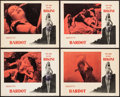 """Movie Posters:Foreign, The Girl in the Bikini (Atlantis Films, 1958). Lobby Cards (4) (11"""" X 14""""). Foreign.. ... (Total: 4 Items)"""