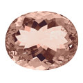 Gems:Faceted, Gemstone: Morganite - 66.28 Cts.. Mozambique. ...
