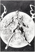 Original Comic Art:Covers, Mike Deodato Jr. Nova #36 Cover Original Art (Marvel, 2007)....
