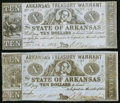 Obsoletes By State:Arkansas, (Little Rock), AR- Arkansas Treasury Warrant $10 Mar. 6, 1862 Cr. 56 and Mar. 17, 1863 Cr. 56A. ... (Total: 2 notes)