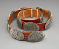 American Indian Art:Jewelry and Silverwork, A Southwest Concho Belt...
