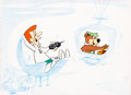 Animation Art:Color Model, The Jetsons/Yogi Bear Color Model/Publicity Cel and LayoutDrawing (Hanna-Barbera, c. 1980s)....