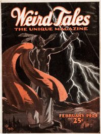 Weird Tales - February 1924 (Popular Fiction) Condition: VG