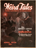 Pulps:Horror, Weird Tales - April 1924 (Popular Fiction) Condition: VG....