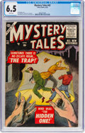 Silver Age (1956-1969):Horror, Mystery Tales #42 (Atlas, 1956) CGC FN+ 6.5 White pages.