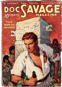 Doc Savage - March 1933 (#1) (Street & Smith) Condition: VG-