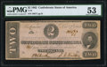 Confederate Notes:1862 Issues, T54 $2 1862 PF-11 Cr. 392 PMG About Uncirculated 53.. ...