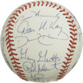 Autographs:Baseballs, 1998 St. Louis Cardinals Team Signed Baseball. The clean ONL(Coleman) baseball that we see here has been adorned with 24 s...