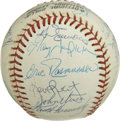Autographs:Baseballs, 1977 St. Louis Cardinals Team Signed Baseball. For the first timein over a decade the St. Louis Cardinals were not led by ...
