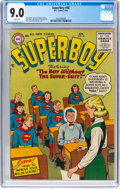 Silver Age (1956-1969):Superhero, Superboy #48 (DC, 1956) CGC VF/NM 9.0 White pages....