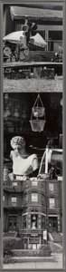 , Robert Rauschenberg (1925-2008). Photem Series I, #17, 1991.Gelatin silver print mounted on aluminum. 68 x 15-1/4 inche...