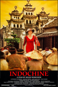 """Indochine & Other Lot (Sony, 1992). One Sheets (2) (27"""" X 40"""" & 27"""" X 41"""") SS. Drama. ... (T..."""