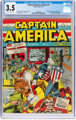 Captain America Comics #1 (Timely, 1941) CGC VG- 3.5 Off-white to white pages