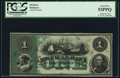 Obsoletes By State:Maryland, Baltimore, MD- American Bank $1 186_ Remainder PCGS About New 53PPQ.. ...