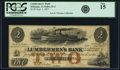 Obsoletes By State:Iowa, Dubuque, IA- Lumbermen's Bank of E.L. Fuller & Co. $2 Sep. 1,1857 PCGS Fine 15.. ...