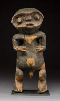 A Large and Important Mambila Figure Cameroon
