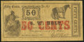 Obsoletes By State:Louisiana, New Orleans, LA- G.W. Holt 50¢ Jan. 1, 1862 Very Good-Fine.. ...