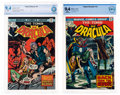 Bronze Age (1970-1979):Horror, Tomb of Dracula #16 and 31 Group (Marvel, 1974-75) CBCS NM 9.4 White pages.... (Total: 2 )