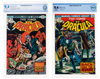 Tomb of Dracula #16 and 31 Group (Marvel, 1974-75) CBCS NM 9.4 White pages.... (Total: 2 )