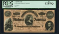 Confederate Notes:1864 Issues, T65 $100 1864 PF-3 Cr. 494 PCGS New 62PPQ.. ...