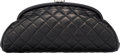 "Luxury Accessories:Bags, Chanel Black Quilted Lambskin Leather Timeless Clutch. Condition: 3. 11.5"" Width x 6"" Height x 3"" Depth. ..."