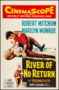 """Movie Posters:Western, River of No Return (20th Century Fox, 1954). One Sheet (27"""" X 41.5""""). Western.. ..."""