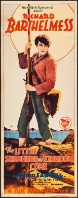 "The Little Shepherd of Kingdom Come (First National, 1928). Insert (14"" X 36""). Drama"