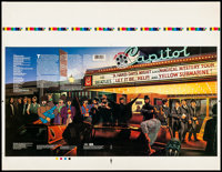 "The Beatles: Reel Music (Capitol Records, 1982). Vinyl Record Printer's Proof (26"" X 20"") McMacken Artwork. Ro..."