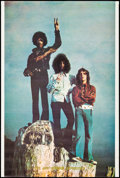 """Movie Posters:Rock and Roll, Jimi Hendrix Experience (The Visual Thing, 1969). Personality Poster (24"""" X 36""""). Rock and Roll.. ..."""