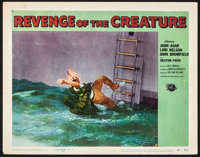 "Revenge of the Creature (Universal International, 1955). Lobby Card (11"" X 14""). Horror"